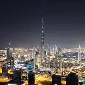 by O J - City,  Street & Park  Skylines ( night, lights )