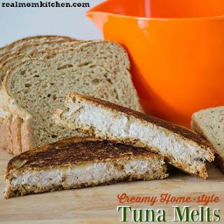 Creamy Home-style Tuna Melts