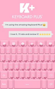 Pink Bow Keyboard - náhled