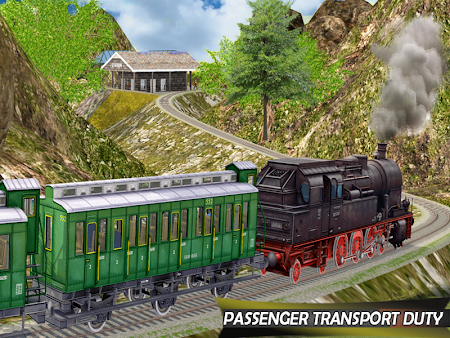 Tourist Train Hill Driving 1.1 screenshot 1660469