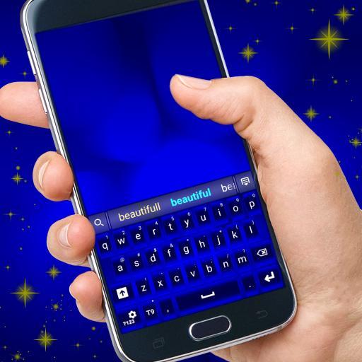 ロイヤルブルーのキーボード 生活 App LOGO-APP試玩