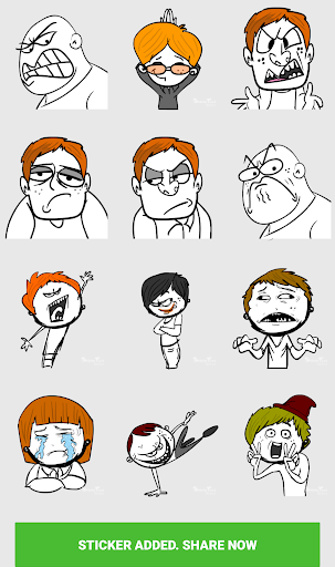 Stickers For Chat - Third Party WAStickerApps sgn_Jan14_2019 screenshots 5