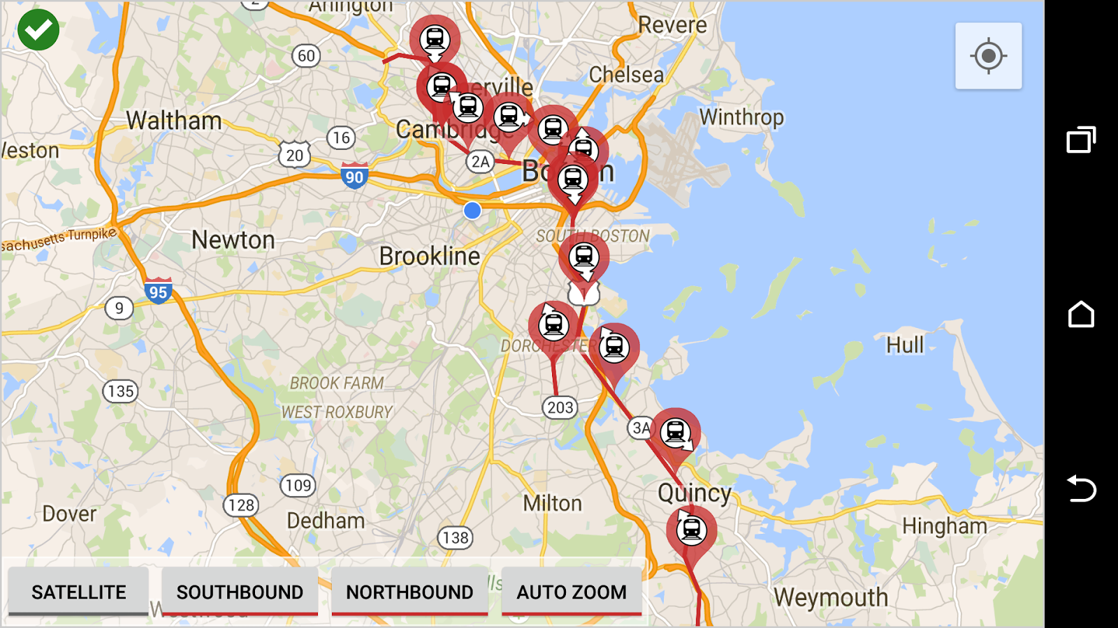 MBTA Red Line Tracker  Android Apps On Google Play
