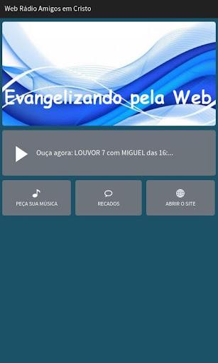 Web Rádio Amigos em Cristo