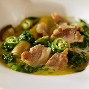 Green Curry Pork Belly
