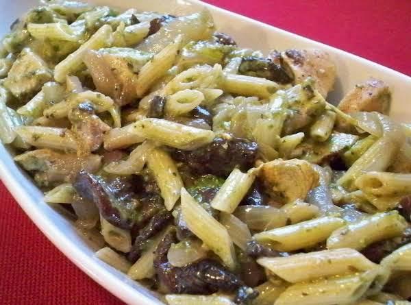 Chicken Penne Pesto