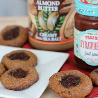 Almond Butter and Jelly Cookies