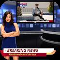 Breaking News Photo Maker Prank:Media Photo Editor icon