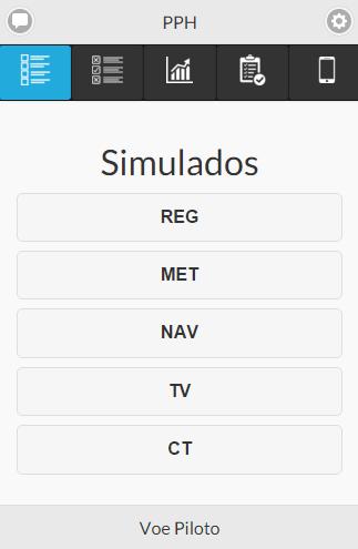 Simulado PPH ANAC: Amostra