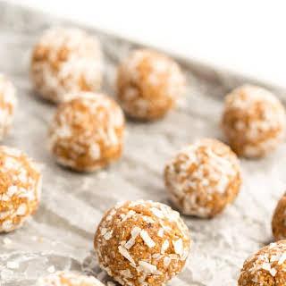 Almond Date Energy Balls.