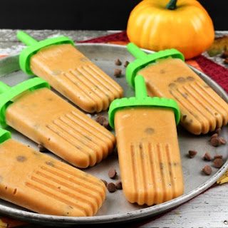 Pumpkin Pie Popsicles Recipe with Cinnamon Chips!.