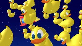 Donald commandant de l'espace