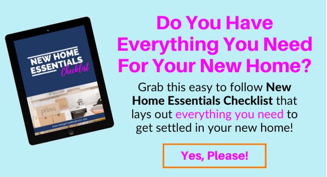 New Home Essentials Checklist