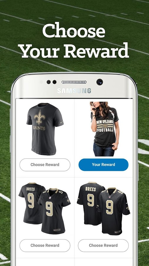 New Orleans Football Rewards- screenshot
