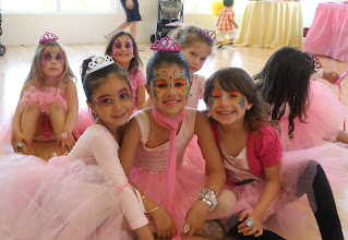 Photo: Beautiful Ballerina Party Face Painting  by Paola Gallardo
