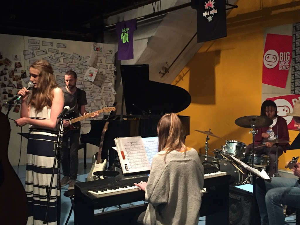 Private lesson gig at Brooklyn Music Factory