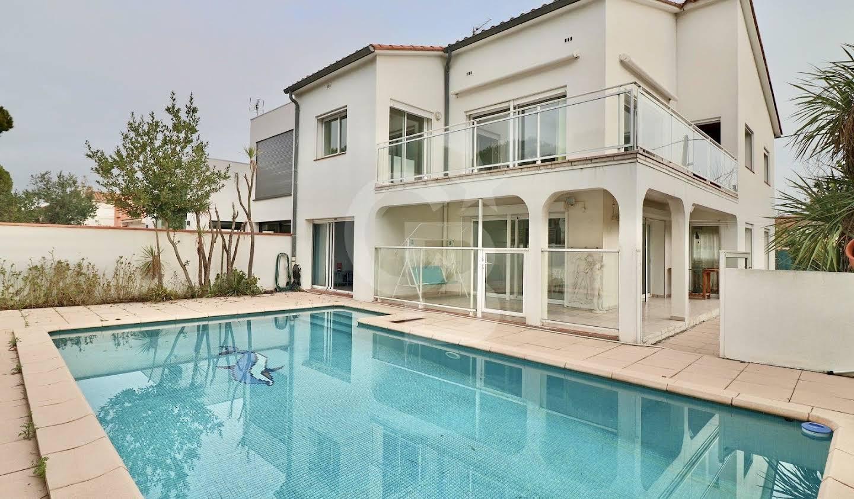 Villa avec piscine Canet plage