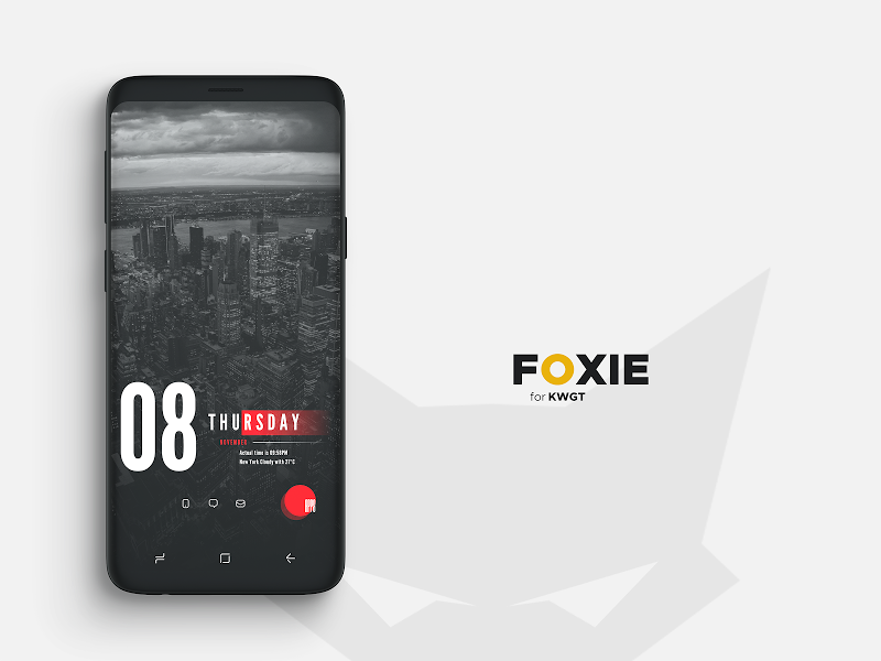 Foxie for KWGT Screenshot 12