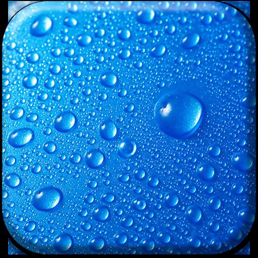 Blue Live Wallpaper Icon