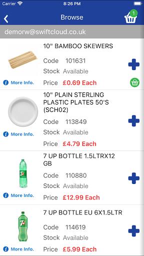 Restaurant Wholesale screenshot 3