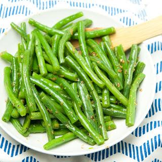 Skillet Green Beans.