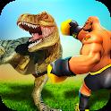 Monster Superhero vs Dinosaur Battle: City Rescue icon