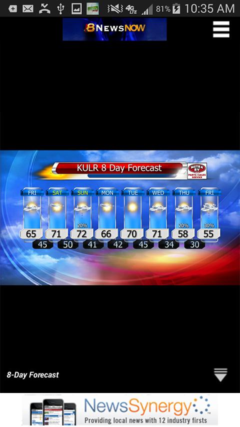 KULR News - screenshot