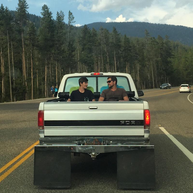 Comodi allo Yellowstone  di GiuChi