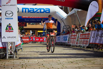 Photo: Gesamtsieger 2014: Markus Kaufmann (Team Centurion VAUDE)