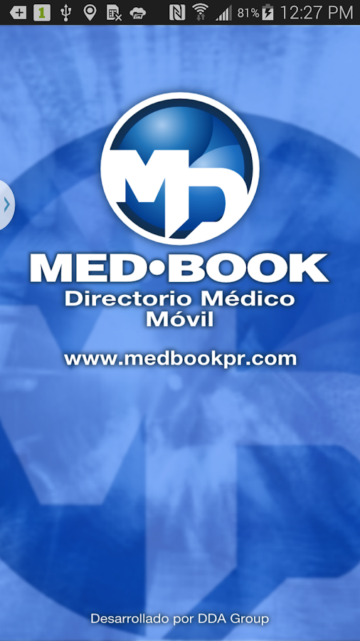 MedBook - screenshot