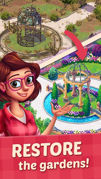 Lily's Garden Android App Screenshot