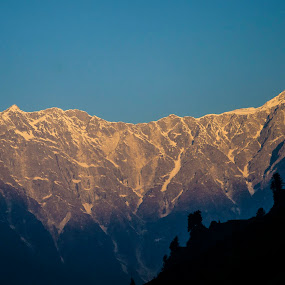 First Light by Debasish Chatterjee - Landscapes Mountains & Hills