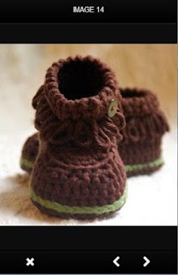Crochet Booties - náhled