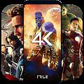 4K Superheroes Wallpapers - Live Wallpaper Changer download