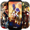 4K Superheroes Wallpapers - Live Wallpaper Changer APK Icon