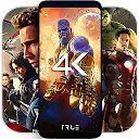 App Download 4K Superheroes Wallpapers - Live Wallpape Install Latest APK downloader