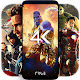 4K Superheroes Wallpapers - Live Wallpaper Changer Android apk