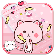 Pink Cute Kitty Cat Theme??
