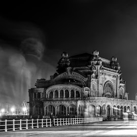 Night Gost's by Aldea George - Buildings & Architecture Public & Historical ( cazinou, black sea, gost, me, constanta )