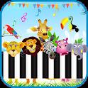 Baby Piano Animals Sounds - Animal Piano Sound App icon