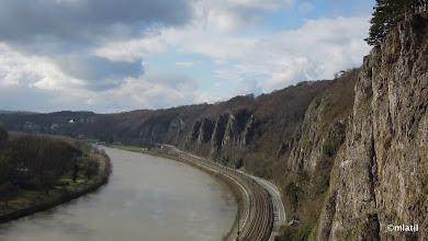 Photo: La Meuse pod Dinantem