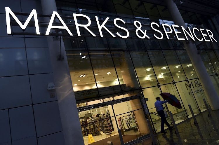 A Marks & Spencer store in London. Picture: REUTERS/TOBY MELVILLE