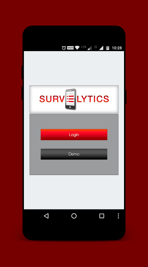 Survelytics - Mobile Surveys- screenshot