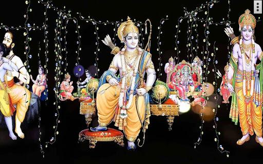 4d Shri Rama शर रम दरबर Live Wallpaper Apk