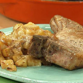 Pork Chops with Apple Hash