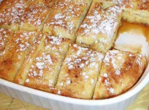 Overnight Spice French Toast Bake Recipe