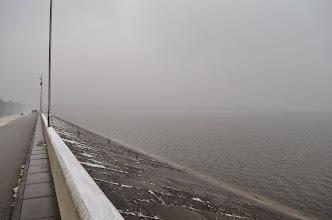 Photo: The dam in Goczałkowice-Zdrój. By Karolina Sikora