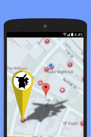 Guide GPS Location Map Change
