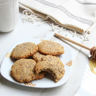Honey Vanilla Tea Biscuits.