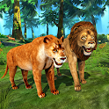 Lion Simulator Family: Animal Survival Games icon
